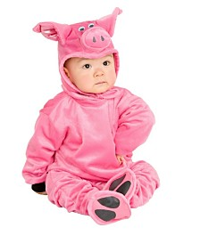 BuySeasons Little Pig - Newborn Child Costume