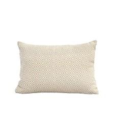 Stratton Home Decor Jacquard Lumbar Pillow