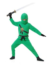 BuySeasons Boy's Ninja Avenger Series 1 Child Costume - Jade