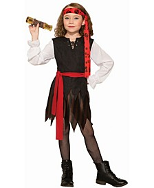 Big Girl's Renegade Pirate Child Costume