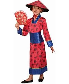 BuySeasons Girl's Kimono Girl Child Costume