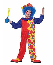 Little and Big Boy's Clown Child Costume
