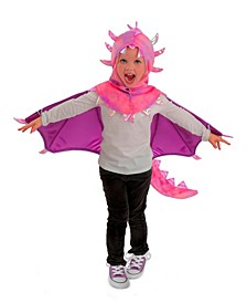 Big Girl's Hooded Sadie Dragon Child Costume