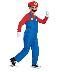 BuySeasons Boy's Mario Deluxe Child Costume