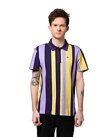 ARTISTIX Vertical Stripe Printed Polo