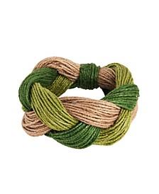 Cord Design Napkin Ring, Set of 4