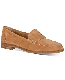 Sperry Women's Seaport Stud-Trim Penny Loafers