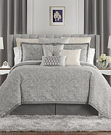 Aidan Reversible Queen 4 Piece Comforter Set