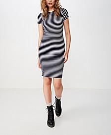 Giselle Short Sleeve Midi Dress
