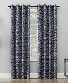 Sun Zero Verve Mosaic Print Blackout Curtain Collection