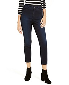 INC Curvy Skinny Ankle Jeans with Tummy Control, Created for Macy's