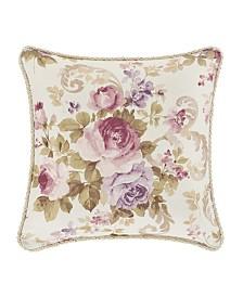 "Chambord Lavender 16"" Square Decorative Throw Pillow"