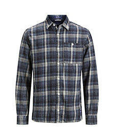 Jack & Jones Men's New Autumn Long Sleeved Check Shirt