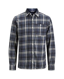 Jack & Jones Men's New Autumn Long Sleeved Check Shirt