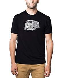 Men's Word Art T-Shirt - The 70's