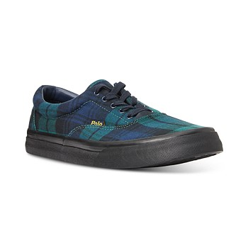 Polo Ralph Lauren Men's Tartan Thornton Shoes