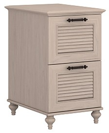 Kathy Ireland Home by Bush Furniture Volcano Dusk 2 Drawer File Cabinet
