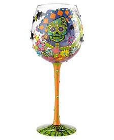 Lolita Wine Glass Bling Sugar Skulls