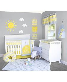 Pam Grace Creations Chevron 10 Piece Crib Bedding Set