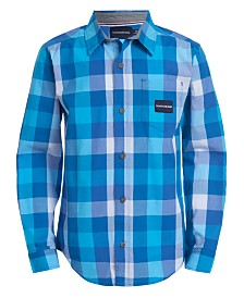 Calvin Klein Jeans Big Boys Check Shirt