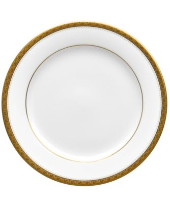 Charlotta Gold Bread Butter/Appetizer Plate