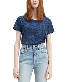 Levi's® Cotton Printed Perfect T-Shirt