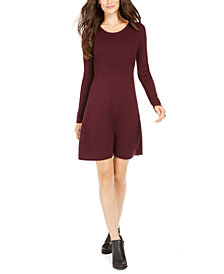 Style & Co Ribbed-Knit Sweater Dress, Created For Macy's
