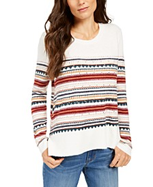 Striped Studded Sweater, Created For Macy's