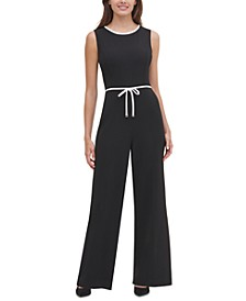Piped Jumpsuit