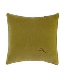 Tommy Bahama Canyon Palms Velvet Throw Pillow