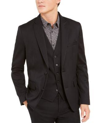 INC Men's Slim-Fit Stretch Twill Blazer, Created For Macy's