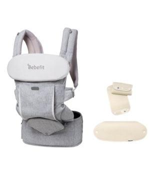 Bebefit Smart Baby Carrier with Convertible Hip Seat and Teething Pad Set