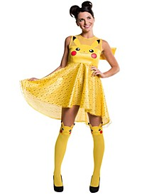 Buy Seasons Women's Pokemon Pikachu Costume Dress
