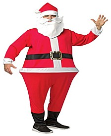 Buy Seasons Men's Santa Hoopster Costume