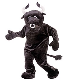 Buy Seasons Men's Bull Deluxe Mascot Costume