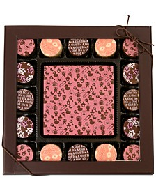 17-Pc. Baby Girl Gourmet Chocolate Truffles