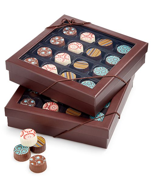 Chocolate Works 32-Pc. Truffle Gift