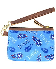 Forever Collectibles Tennessee Titans Printed Collection Wristlet