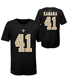 Nike Big Boys Alvin Kamara New Orleans Saints Pride Name and Number T-Shirt