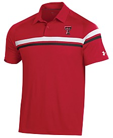 Under Armour Men's Texas Tech Red Raiders Tour Drive Polo
