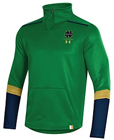Men's Notre Dame Fighting Irish Team Issue Quarter-Zip Pullover