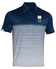 Under Armour Men's Notre Dame Fighting Irish Pinnacle Polo