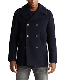Polo Ralph Lauren Men's Wool-Blend Peacoat
