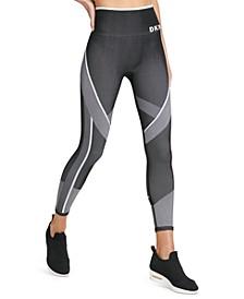 DKYN Sport Printed High-Waist Seamless Leggings