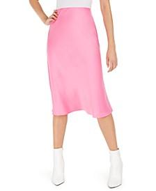 Becca Tilley x Satin Midi Skirt, Created For Macy's