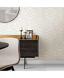 "20.5"" x 396"" Helios Geometric Wallpaper"