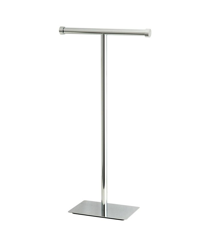 Kingston Brass - Claremont Freestanding Toilet Paper Stand in Polished Chrome