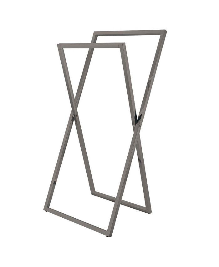Kingston Brass - Pedestal X Style Steel Construction Towel Rack