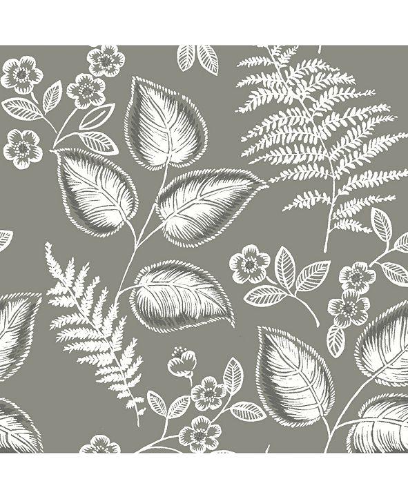 """NuWallpaper 20.5"""" x 2592"""" Foliage Peel Stick Wallpaper"""