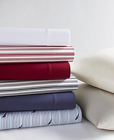 Cotton Percale Sheet Collection